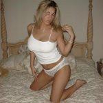 Belle blonde à gros seins pour Plan cul